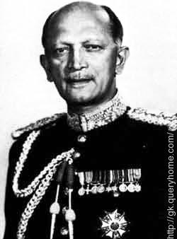 Field Marshal K. M. Cariappa or Kodandera Madappa Cariappa was the first Commander-in-Chief of independent India.