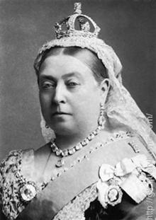 Queen Victoria took the title of 'Empress of India' from 1 May 1876.