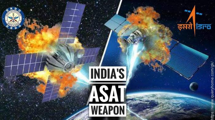 How does India's anti-satellite weapon work?