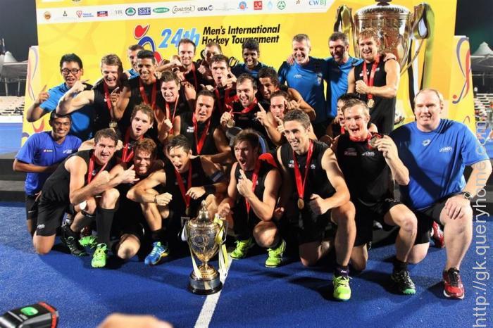 New Zealand won Sultan Azlan Shah Cup 2015
