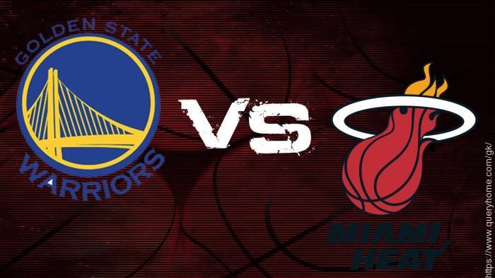 Golden State Warriors  v/s  Miami Heat