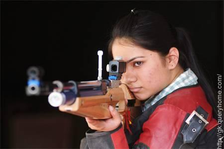 Apurvi Singh Chandela is an Indian shooter