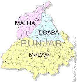 Punjab Regions