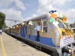 Solar Powered Railway train