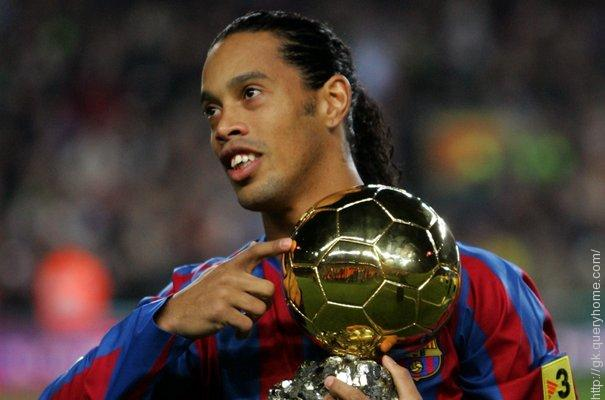 Ronaldinho Brazilian footballer