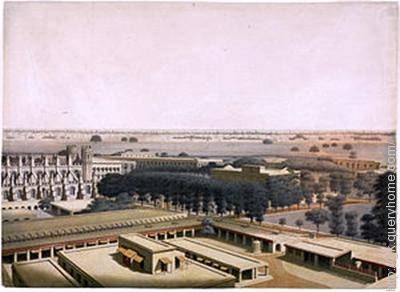 The headquarters of East India Company were located at Fort William in Bengal.