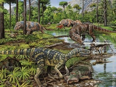 In Triassic era the first mammals evolved in the earth.