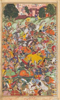 The Second Battle of Panipat was fought on November 5, 1556, between the forces of Hemu, the Hindu general and Chief Minister of Adil Shah Suri, and the army of the Mughal emperor, Akbar.