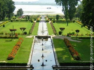 Mughal Emperor Jahangir built the famous Shalimar Bagh of Srinagar for his wife Nur Jahan in 1619.