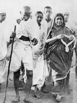 On 12th March, 1930 Dandi March was began.