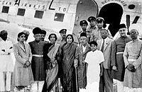 Nizam of Hydrabad with Tata