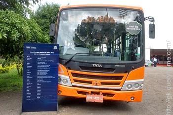 Bio Methane Bus