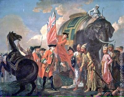 The Battle of Plassey was fought on 23 June in 1757 by Col. Robert Clive, against the Nawab of Bengal Siraj ud-Daulah.