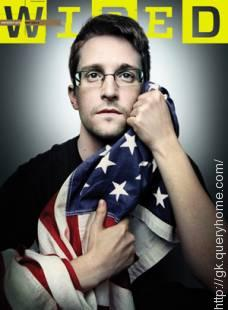 Which newspaper first carried reports of Snowden's leaks?