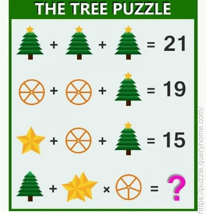 green tree puzzle