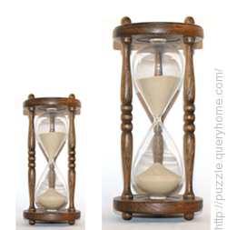 How you will measure 9 minutes from a 4 minutes hourglass and a 7 minutes hourglass?