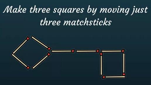 Three Matchsticks