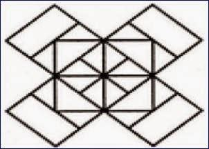 Count number of squares in the below image?