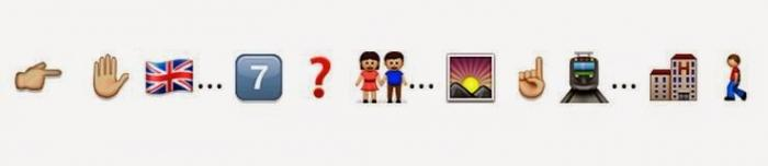 Guess this killer hindi Song from the following whatsapp emoticons