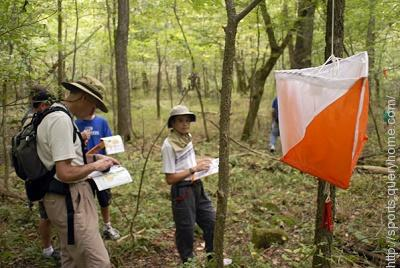 Orienteering :- In this sport you have to navigate on foot to a series of control points