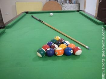 In Billiard sport the term 'CUE' is associated.