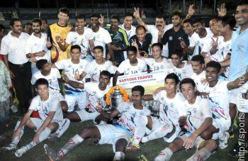 Services Team in 2016 Santosh Trophy