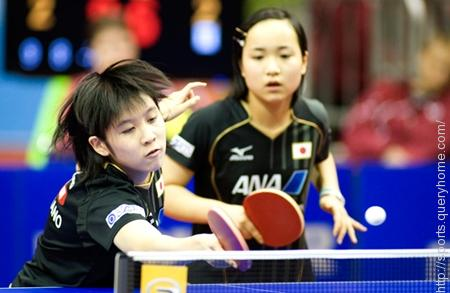 Japanese teens Mima Ito and Miu Hirano became youngest table tennis champions on 13 December 2014 in table tennis World Grand Finals.
