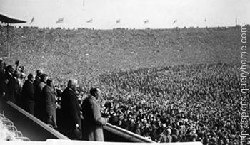 Bolton Wanderers and West Ham United met in the first FA Cup final which is played at Wembley on 28 April in 1923.