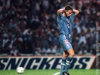 Gareth Southgate missed the penalty shoot-out that knocked England out of Euro 1996.