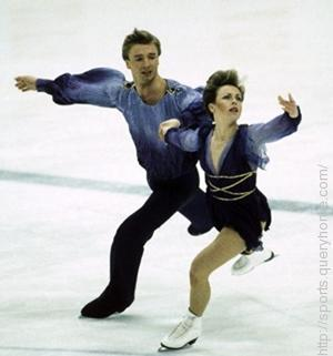 Ice Dance Champions Torvill and Dean are most associated with Maurice Ravel's Bolero music.