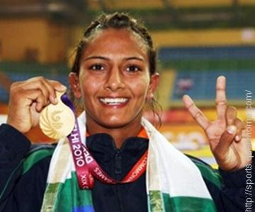 Geeta Phogat won the gold medal in 2010 Commonwealth games in 55kg woman wrestling.