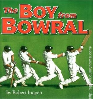 Which sporting great was dubbed 'the boy from Bowral'