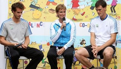 Judy Murray professional tennis players and mother of Jamie and Andy Murray