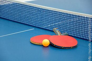 What are the rules about table tennis serves and being ready?