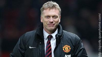 David Moyes replaced Sir Alex Ferguson as manager of Manchester United.
