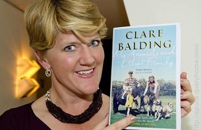 'My Animals and Other Family' by Clare Balding