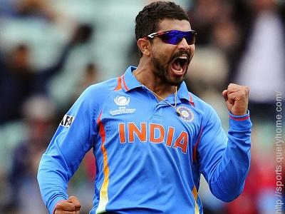 What is Indian cricketer Ravindra Jadeja's middle name