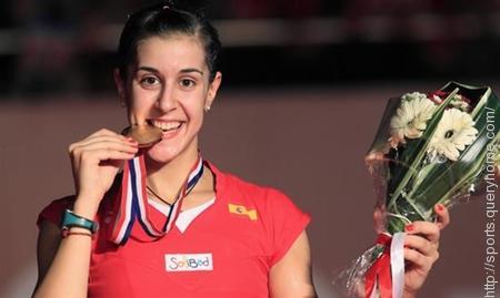 Spanish badminton player Carolina Marín has won Women's Singles Title in All England Open Badminton Championships 2015.