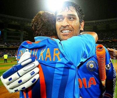 MS Dhoni in worldcup 2011
