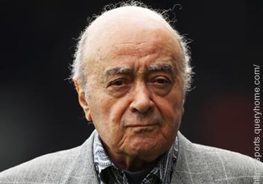 Mohamed Al-Fayed bought Fulham football club in 1997.