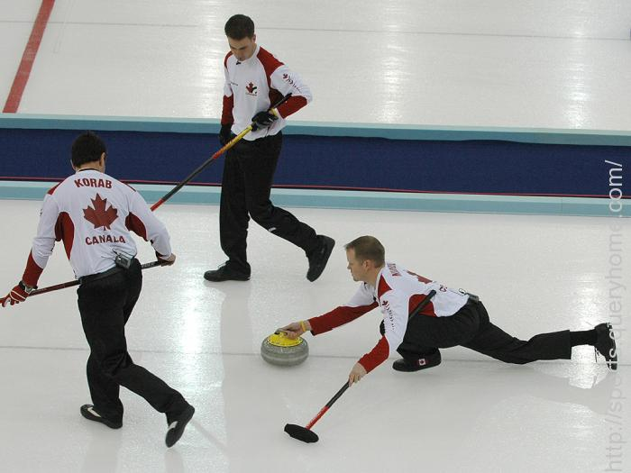 Air Canada Silver Broom trophy