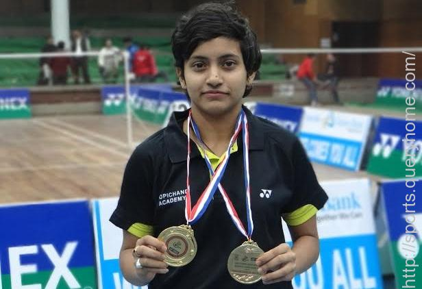 Rituparna Das from Telengana has  won the Women's Single Title at the 81st Senior Badminton National Championship