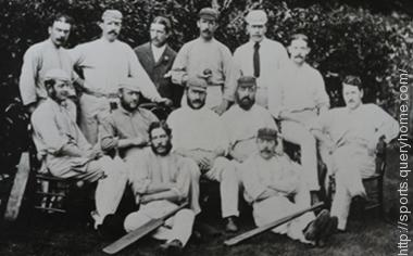 The first officially recognized Test match began on 15 March 1877 and ended on 19 March 1877 and was played between England and Australia at the Melbourne Cricket Ground (MCG)