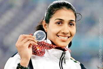 Anju Bobby George is the first Indian athlete to win a medal in 'World Championships in Athletics' competition.