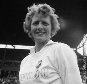 Dutch athlete Fanny Blankers-Koen won 4 gold medals at the 1948 London Olympics.