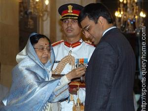 Viswanathan Anand was the first sportsperson to win the Padma Vibhushan