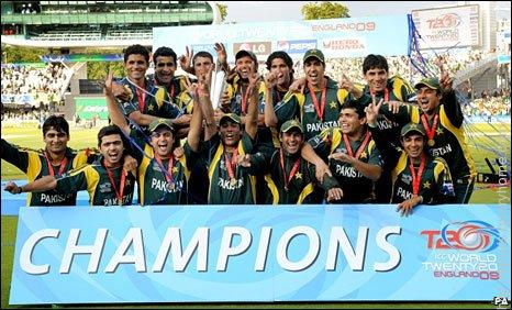 The second tournament was won by Pakistan who beat Sri Lanka by 8 wickets in England on 21 June 2009