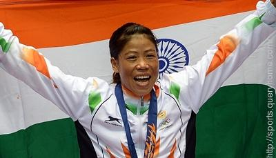 Five times MC Mary Kom win Women's World Boxing Championships.