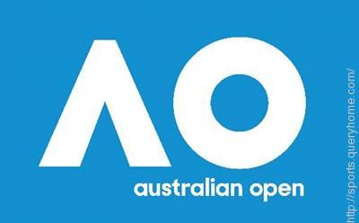Australian Open Grand Slam tennis tournament start first in the year.