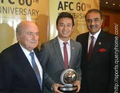 Baichung Bhutia is the first Indian footballer to be inducted in the Asian Football Confederation's  Hall of Fame